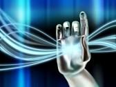 6818902-cybernetische-hand-manipuleren-een-gloeiende-digitale-stroom-digitale-afbeelding