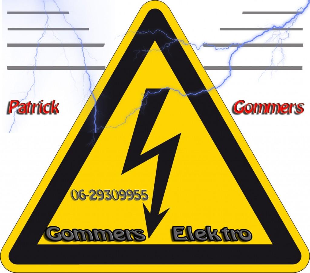 gommers elektro gevaar